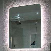 HiB Back lit mirror  image
