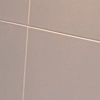 Matt white porcelain tiles image