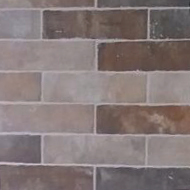 Feature wall - Porcelain brick tiles image