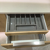 Internal cutlery drawer image