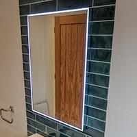 LED Mirror image