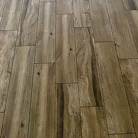 170 Square meters of Porcelain wood effect plank tile image