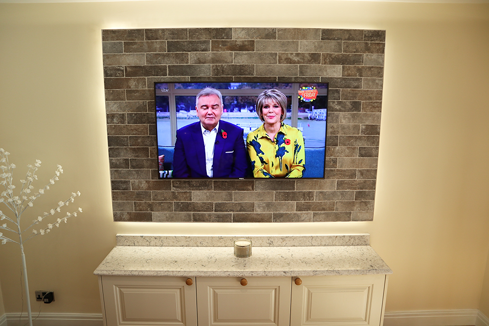 T.V Feature walls image