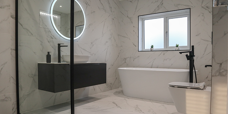 Carrara En-suite hero image